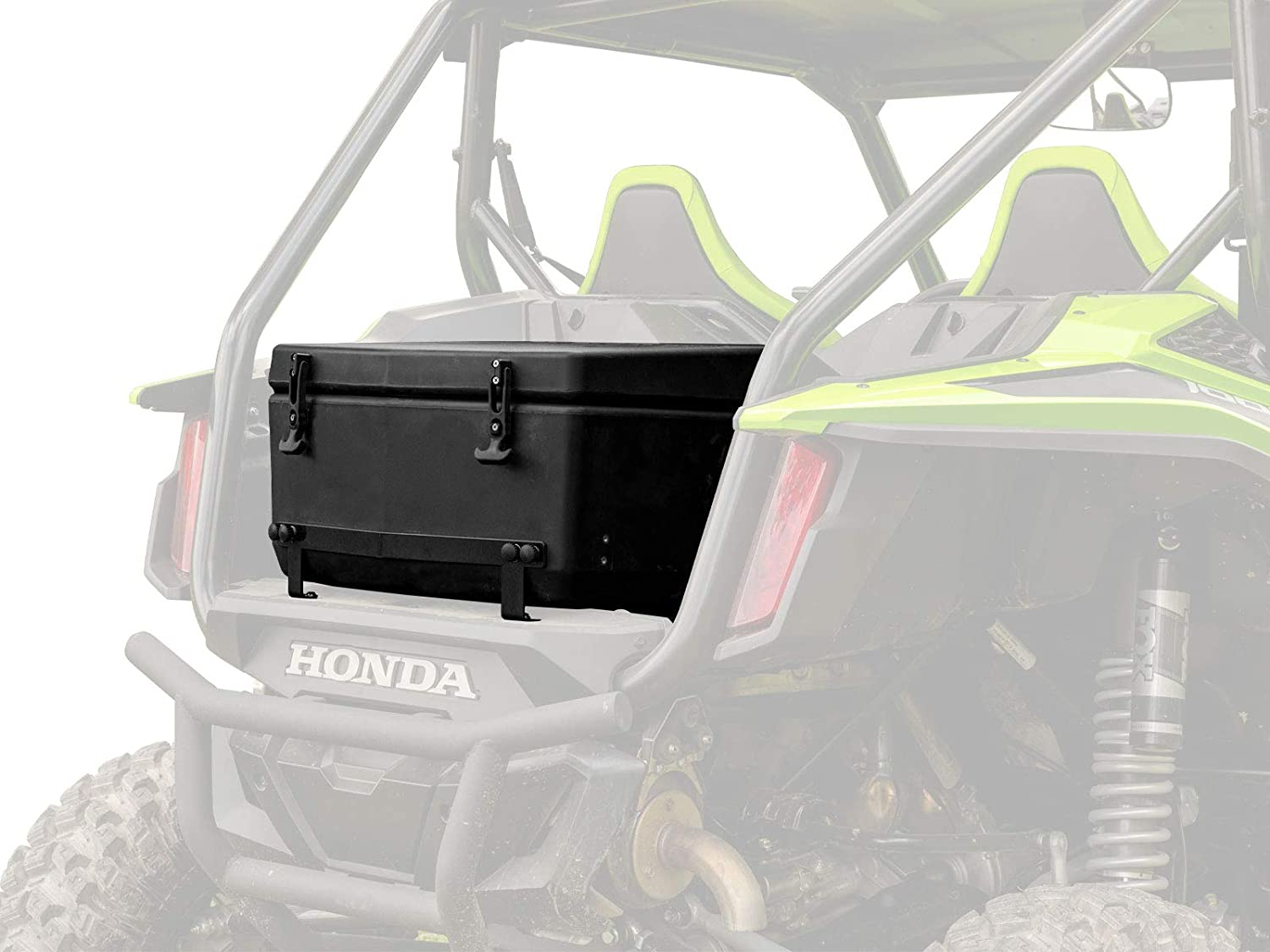 SuperATV Heavy Duty Cooler/Storage Cargo Box for Honda Talon 1000 X / 1000 R - (2019+) - Insulated to Keep Drinks Cold! - 30-liter Capacity