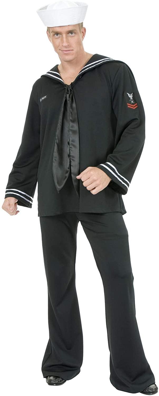 Charades Men's South Sea Sailor Costume Set