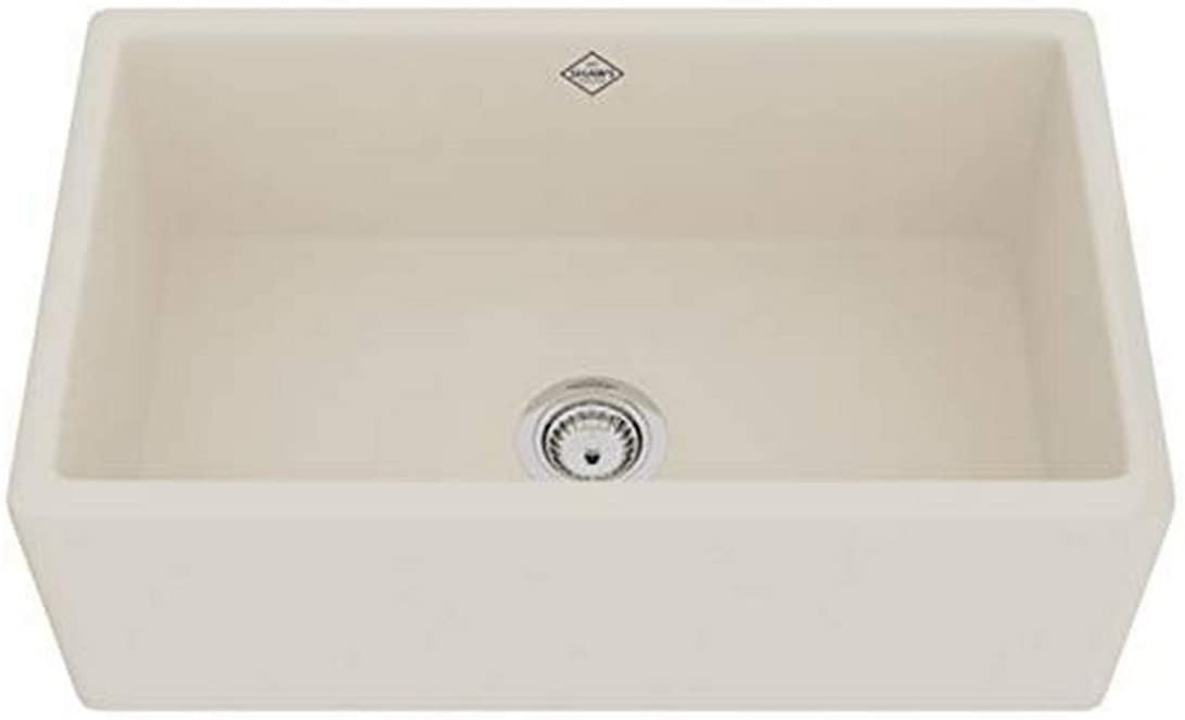 ROHL MS3018PCT FIRECLAY KITCHEN SINKS, Parchment