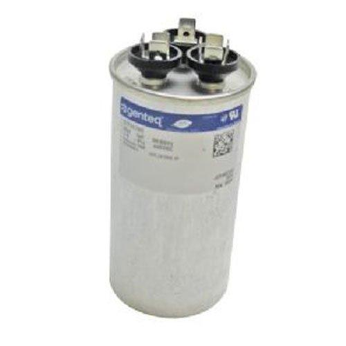 29W09 - 70 + 10 uf MFD 440 Volt VAC - Lennox Round Dual Run Capacitor Upgrade