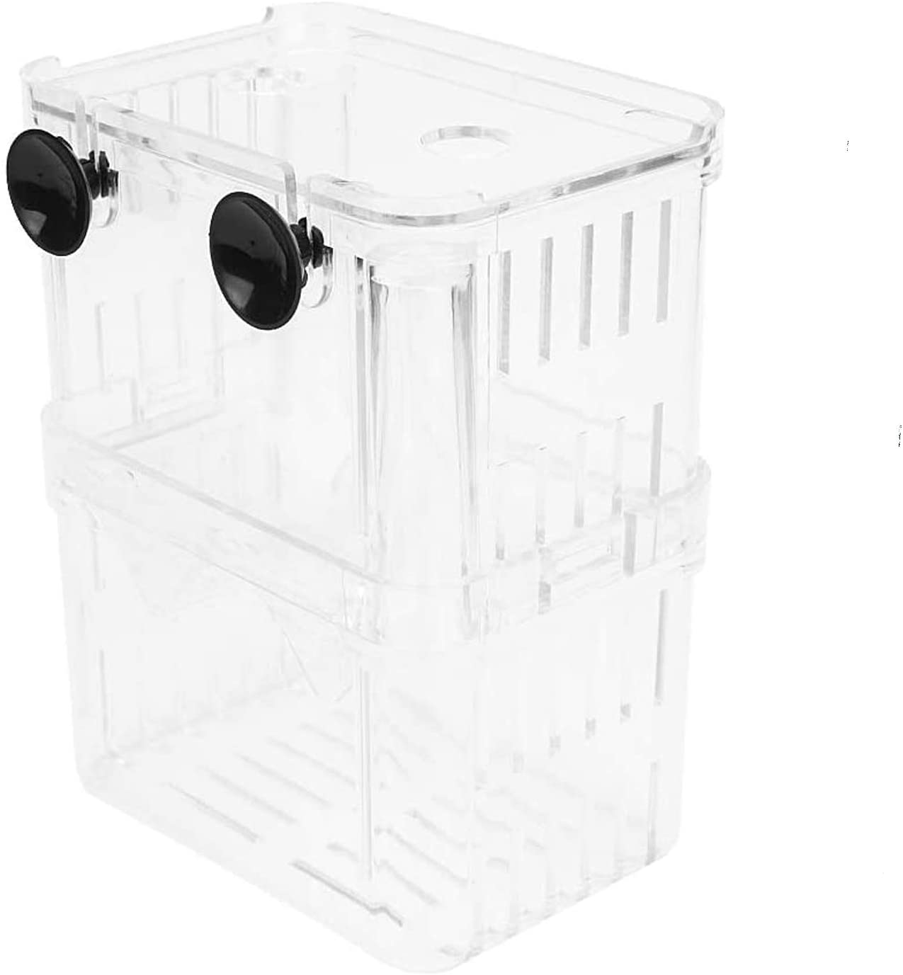 Petzilla in-Tank Aquarium Breeder Box for Fish Tank, Breeding Incubator for Small Fish Hatchery, Acrylic Divider for Shrimp Clownfish Aggressive Fish Injured Fish