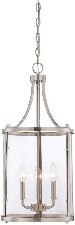 Savoy House 7-1040-3-SN Three Light Foyer Lantern