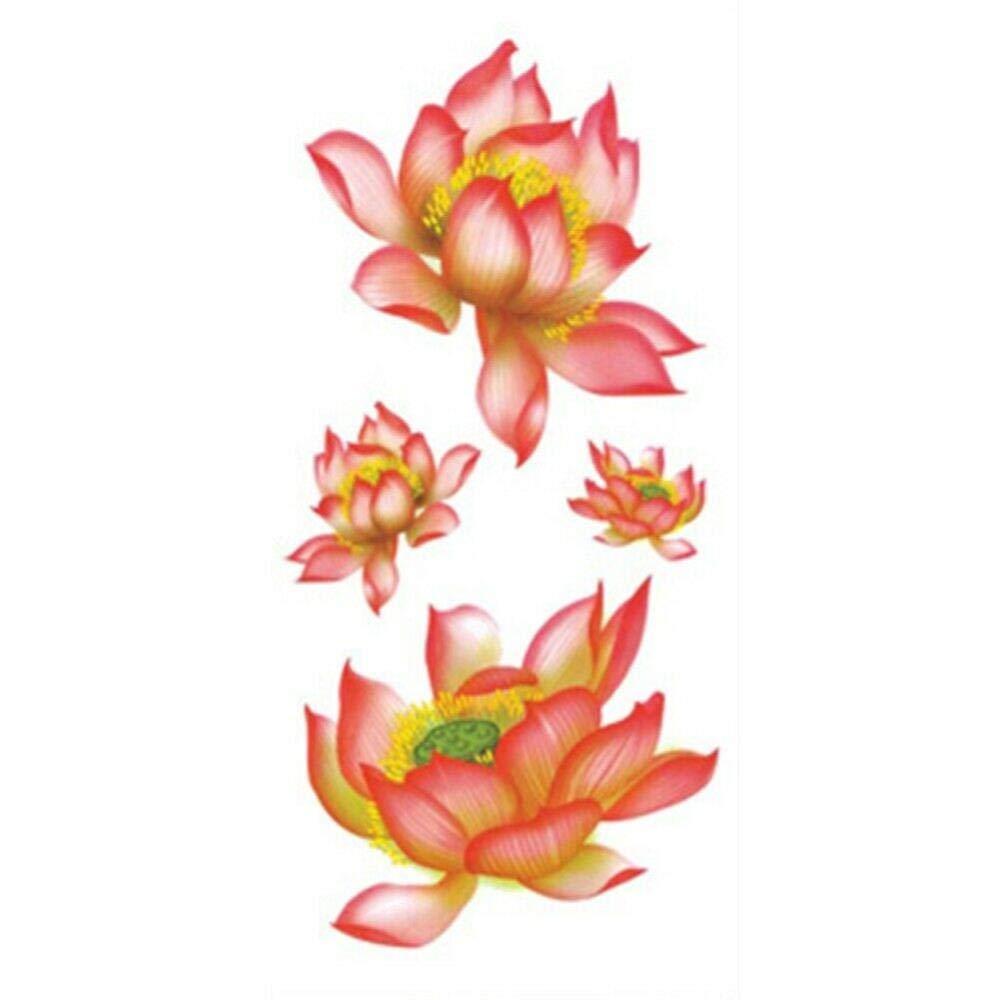 Temporary Tattoos, Temporary Tattoos Body Flower Arm Tattoo Art Sticker Half Sleeve Fake Waterproof,Style 10