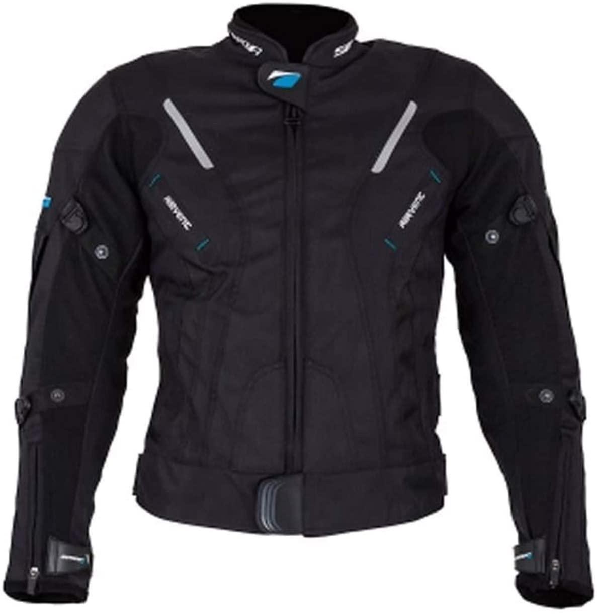 Spada Curve Waterproof Textile Motorcycle Jacket - Black XXL