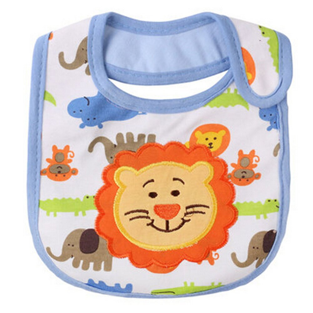 Cute Cartoon Pattern Toddler Baby Waterproof Saliva Towel Baby Bibs£¬W