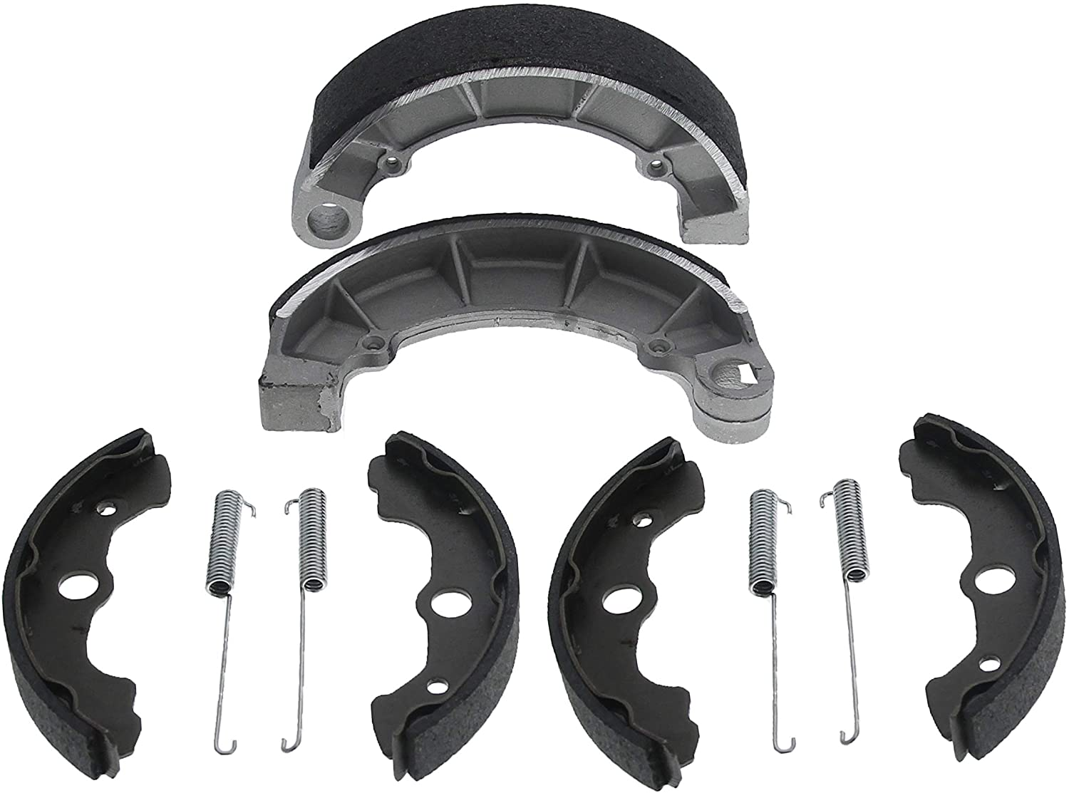 Front and Rear Brake Shoes for 2001-2004 Fits Honda Foreman Rubicon 500 TRX500FA 4x4