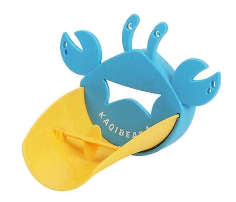 [Blue Crab] Cute Cartoon Faucet Extender Sink Handle Extender for Kids