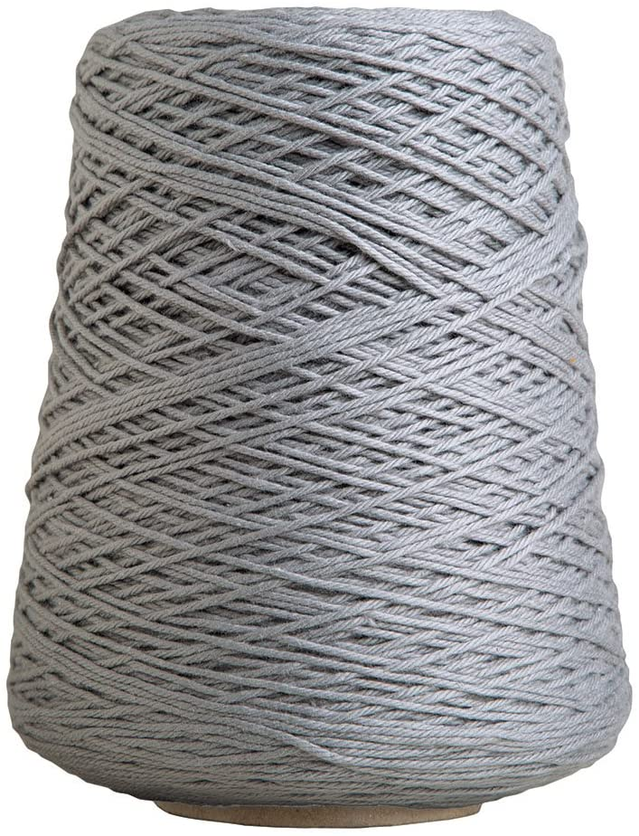 Knit Picks Dishie Cone Worsted Cotton Yarn - 14 oz (Silver)