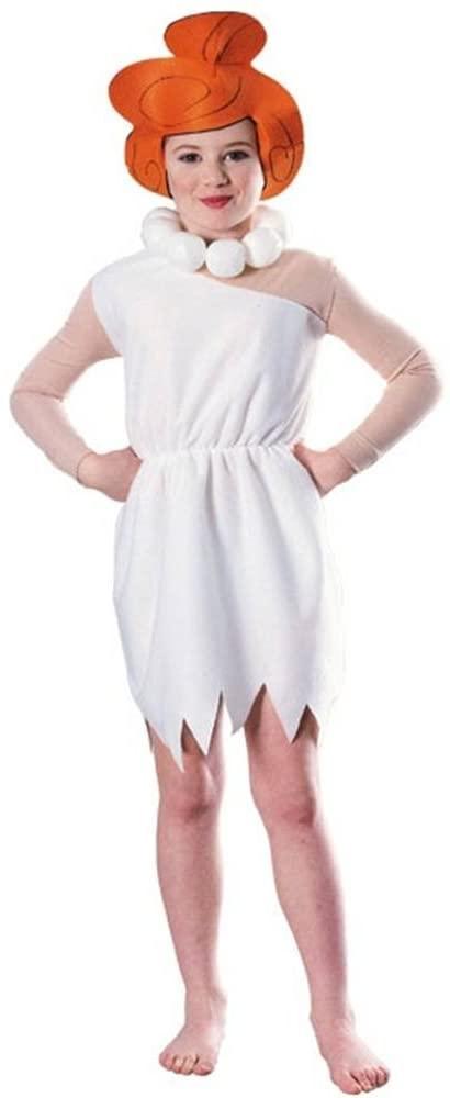 Wilma Flintstone Kids Costume - Small