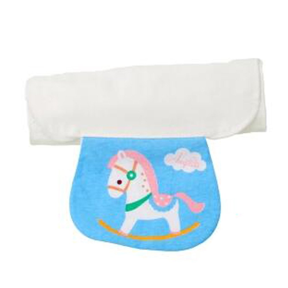3PCS Breathable Gauze Back Perspiration Wipes Towel Sweat Absorbent Towel, NO.9
