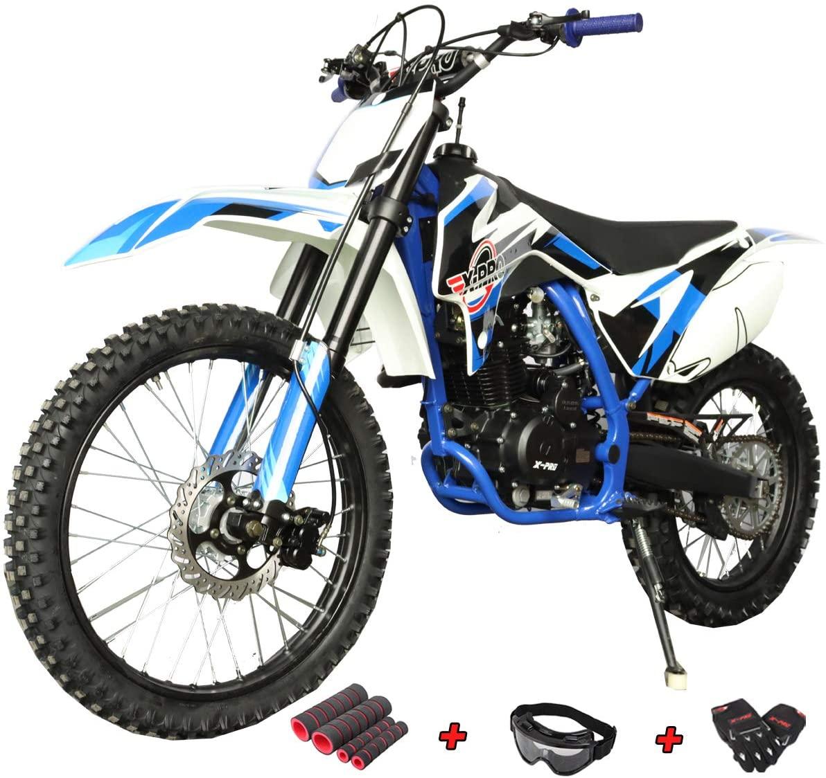X-PRO Titan 250cc Dirt Bike Zongshen Engine Pit Bike Gas Dirt Bikes Adult Dirt Pitbike 250cc Gas Dirt Pit Bike, Big 21