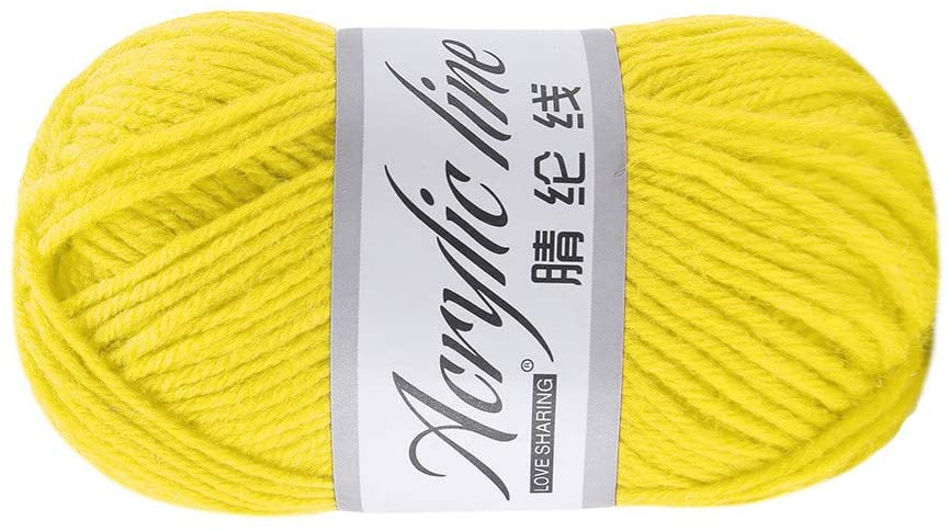 Clearance Sale !! Knitting Yarn,1PC 50g Bulky Chunky Yarn Acrylic & Wool Soft Crochet Yarn Cotton Wool Group Yarn for DIY Wool Yarn Crochet Knitting (D)