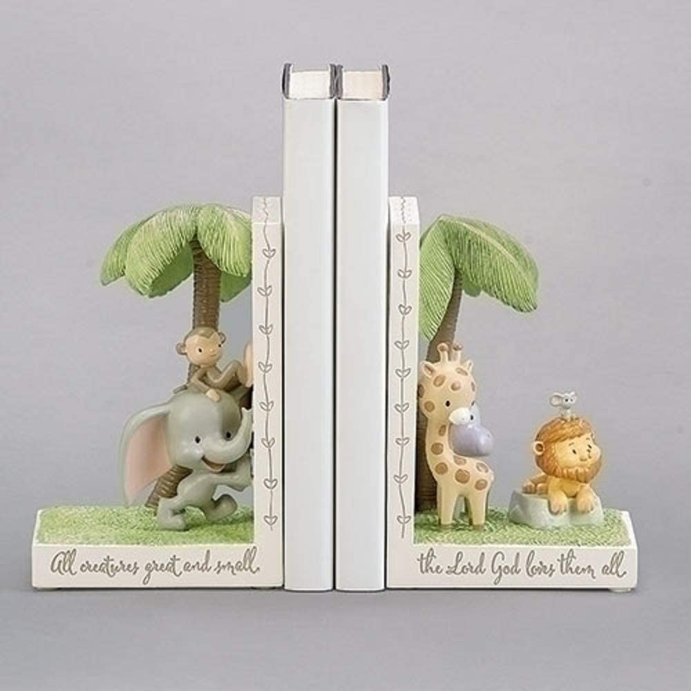 Roman 6-inch All Creatures Great and Small Bookends Set of 2