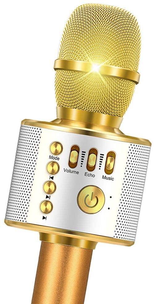 Fricon Wireless Bluetooth Karaoke Microphone - Best Gifts