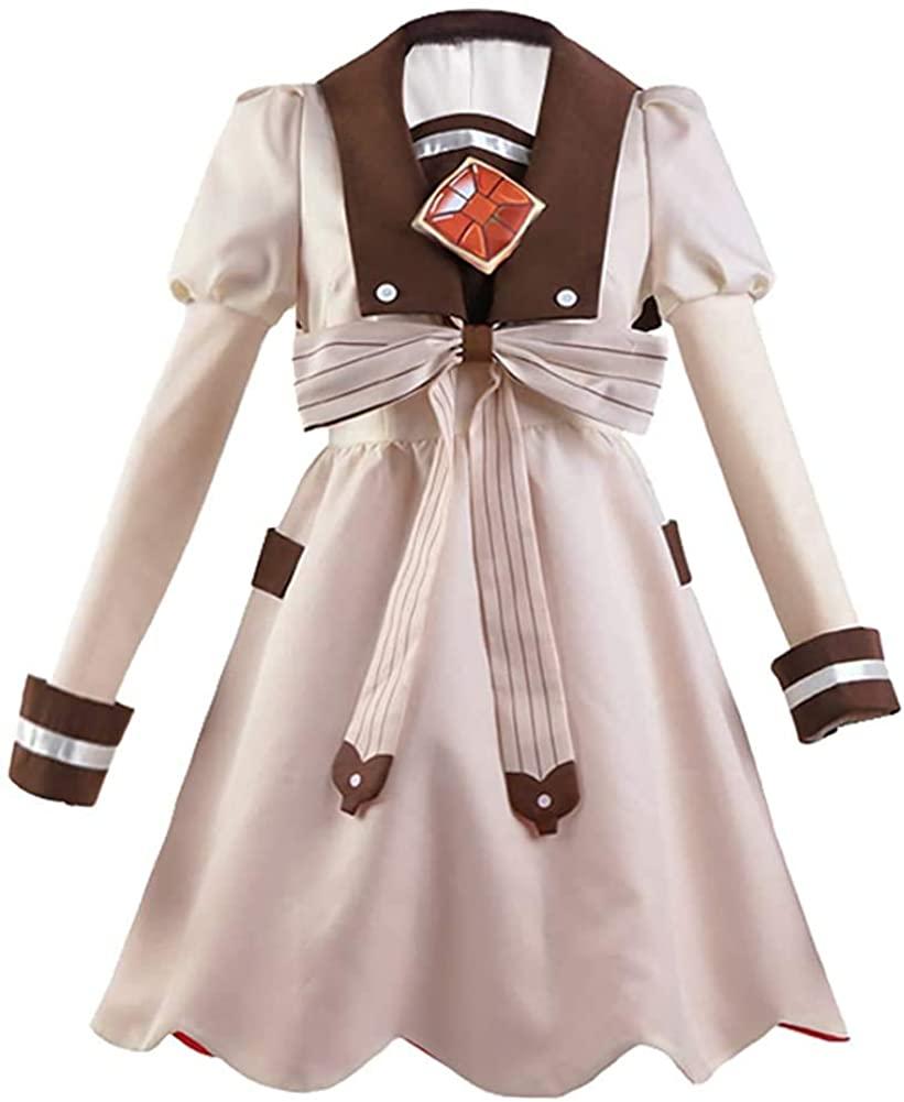 GLEST Nanamine Sakura Cosplay Costume Dress Toilet Bound Hanako Kun School Uniform for Women Halloween Outfit