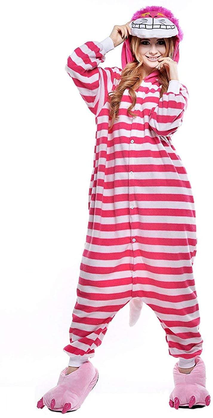 Animal Onesies Pajamas Adult Unisex Cosplay Animal Halloween Costumes Xmas