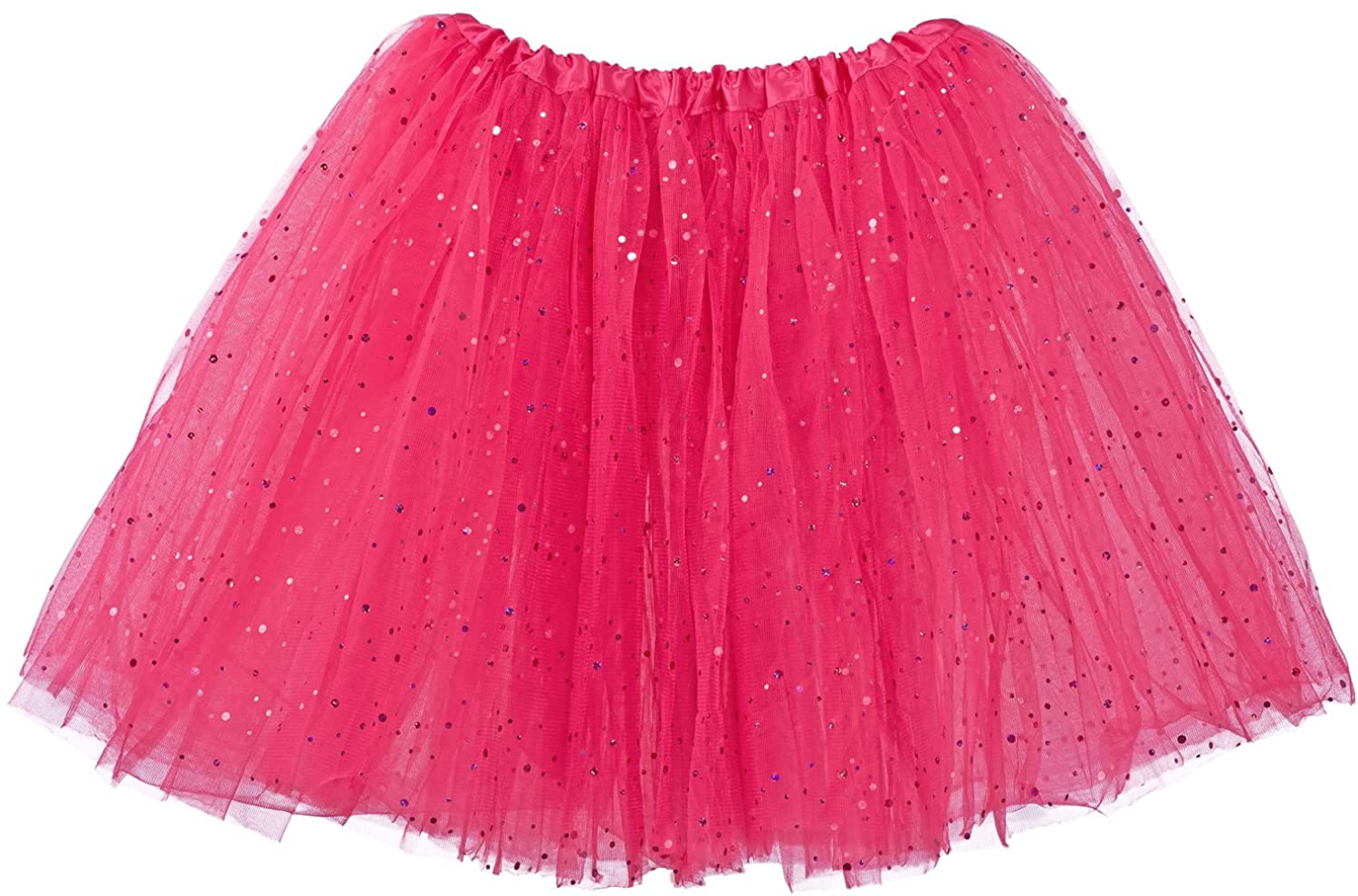 My Lello Big Girls Sparkle Tutu 3-Layer Ballerina (4T-8yr)