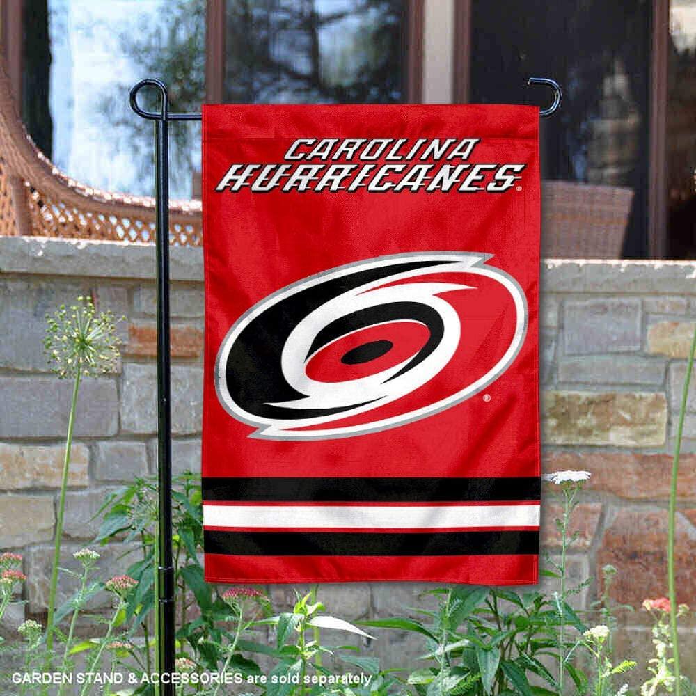 WinCraft Carolina Hurricanes Double Sided Garden Flag