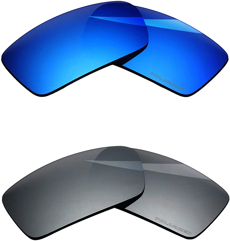 BlazerBuck Anti-salt Polarized Replacement Lenses for Oakley Gascan - 2 Pairs