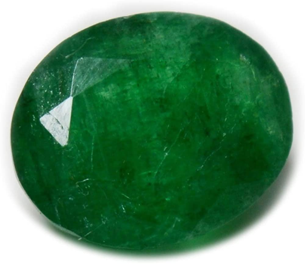 Gemsonclick Natural Genuine Emerald Loose Gemstone 4.5 Carat Oval Shape May Birthstone At Wholesale Price