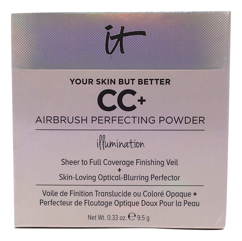 it Cosmetics Your Skin but Better, CC+ Airbrush Perfecting Powder, Illumination (Medium)