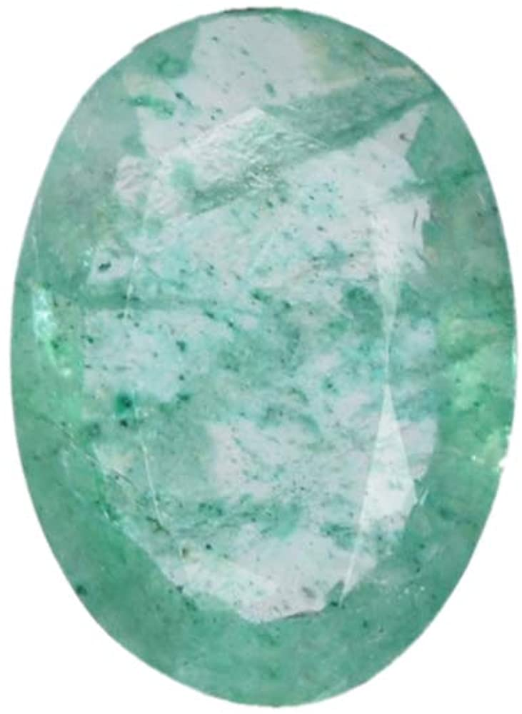 2.05 Ct Egl Certified Oval Cut Natural Green Emerald Loose Gemstone Jewelry Making DX-768