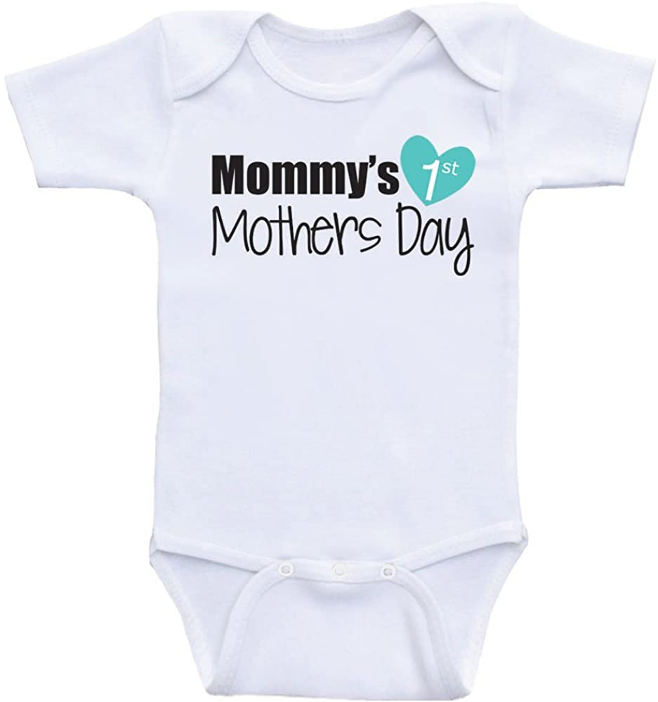 1st Mothers Day Baby Clothes Mommy's 1st Mothers Day Baby Clothes