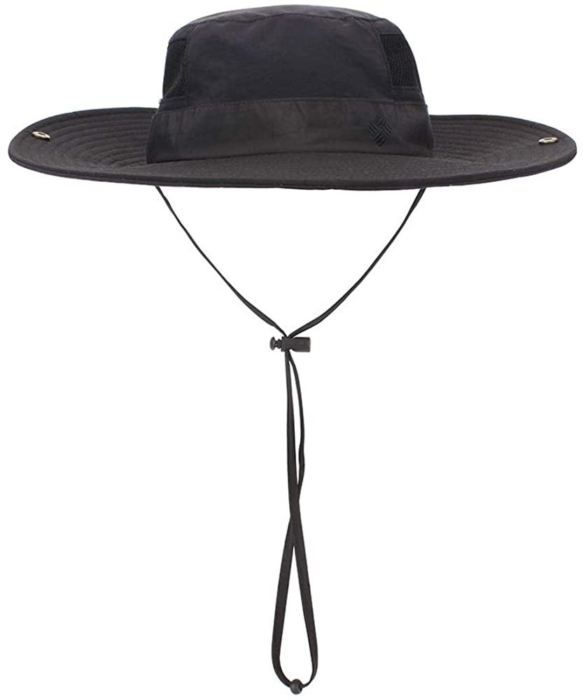 MK MATT KEELY Mens & Women Fishing Hat Summer Waterproof Breathable Mesh Sun Hat UPF 50+ Adjustable