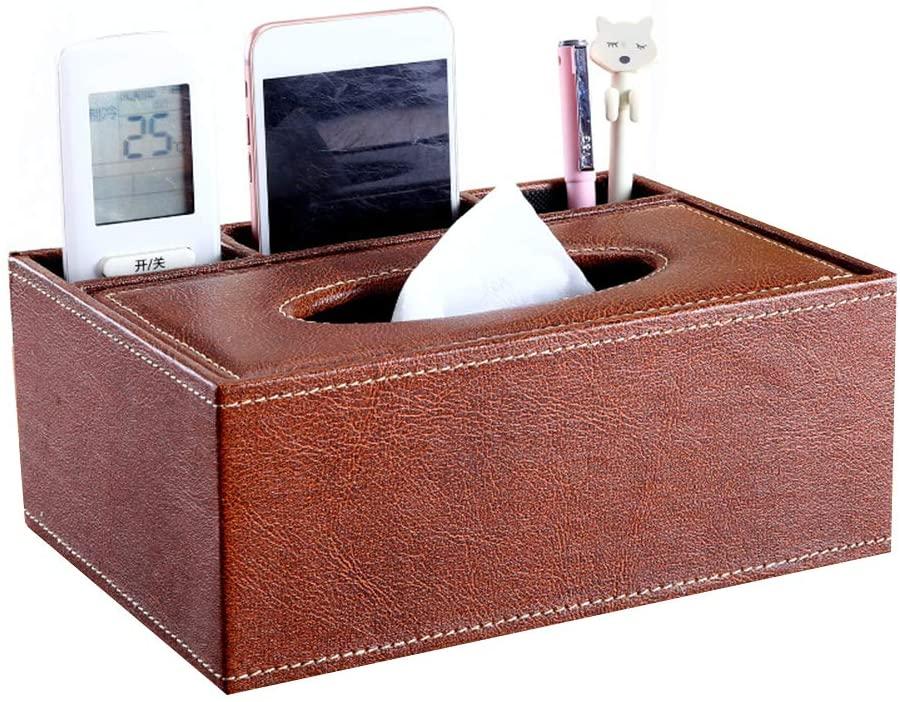 heaven2017 Tissue Paper Box Napkin Holder Desk Organizer E