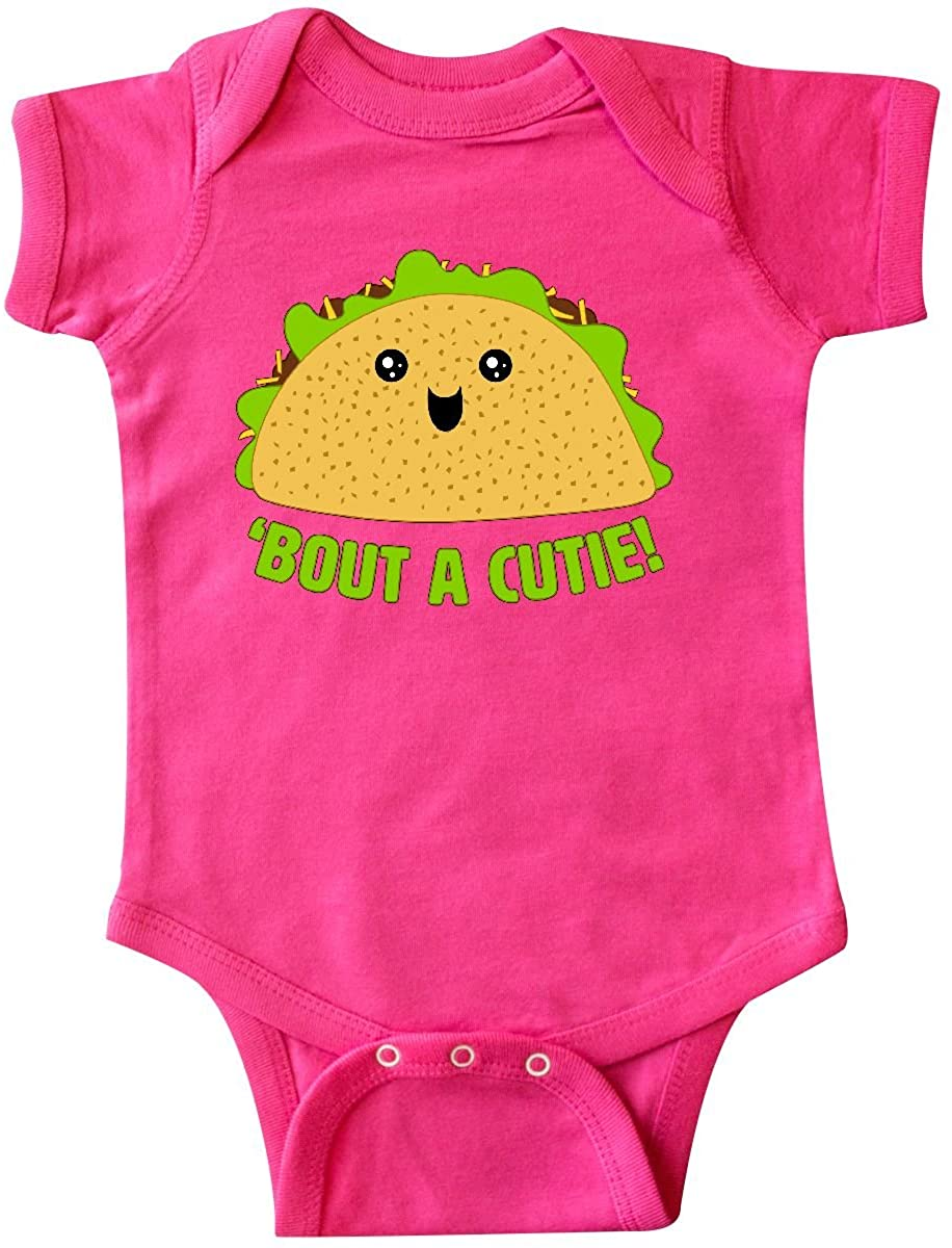 inktastic Taco Bout a Cutie Cute Taco Pun Infant Creeper