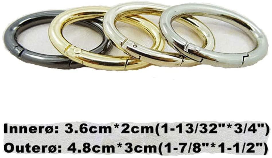 4 PCS 36mm Metal Snap Clip Trigger Spring Gate