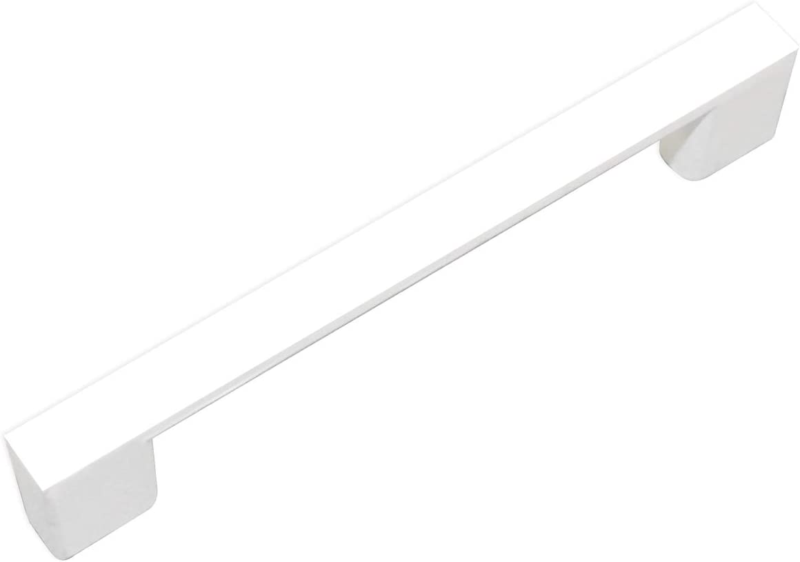 ZHANGJIAHE Kitchen Cabinet Handles White Handles for cabinets Modern Pack of 12~3 3/4