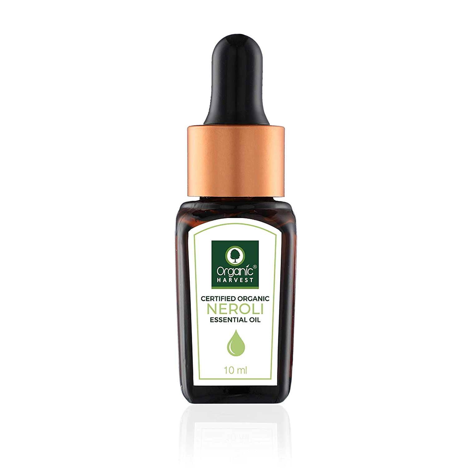 Organic Harvest - Neroli Essential Oil – USDA, OneCert, Certified Organic, 100% Pure, Undiluted, Therapeutic Grade, Excellent for Aromatherapy, 1/3 fl. Oz / 10 ml