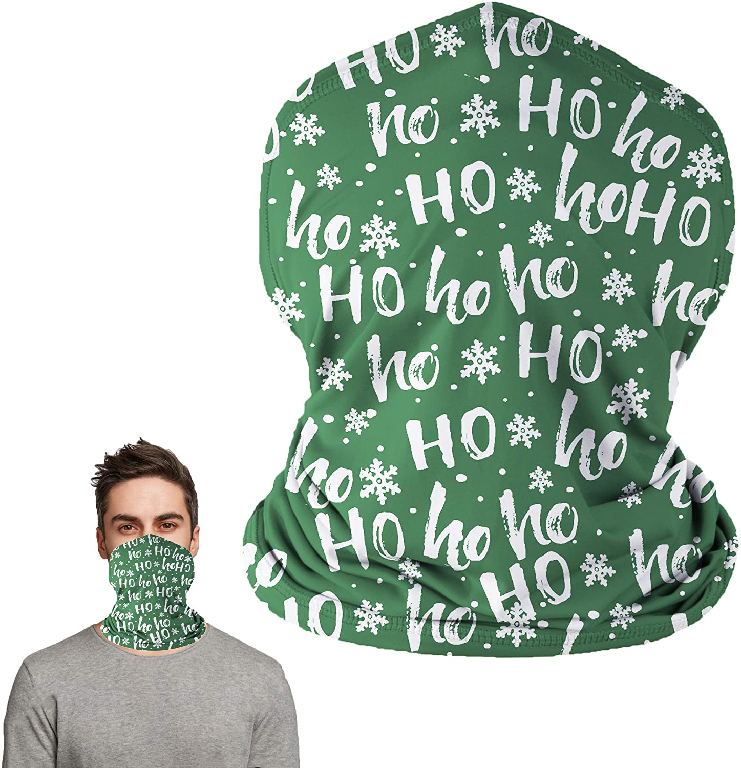 Christmas Neck Gaiter Face Mask Women and Neck Gaiters for Men Summer-Bandana Face Mask for Men