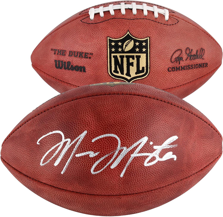 Marcus Mariota Tennessee Titans Autographed Duke Pro Football - Autographed Footballs