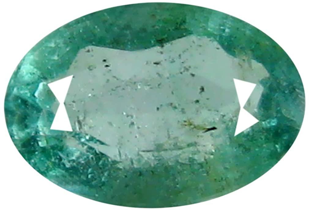 0.47 ct Oval Cut (6 x 4 mm) Green 100% Natural (Un-Heated) Emerald Natural Loose Gemstone