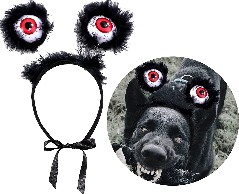 JPB Scary Eyeball Headband Halloween Dog Costume