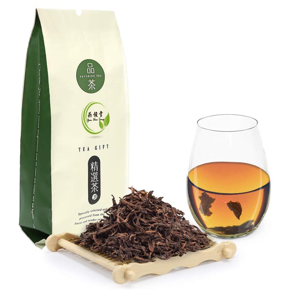 Yan Hou Tang Chinese Yunan Puerh Organic Detox Black Tea 10 Years Aged Puer Tea Bulk Leaf 100g for Energizing beverage