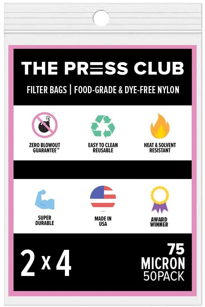 75 Micron   Premium Nylon Tea Filter Press Screen Bags   2