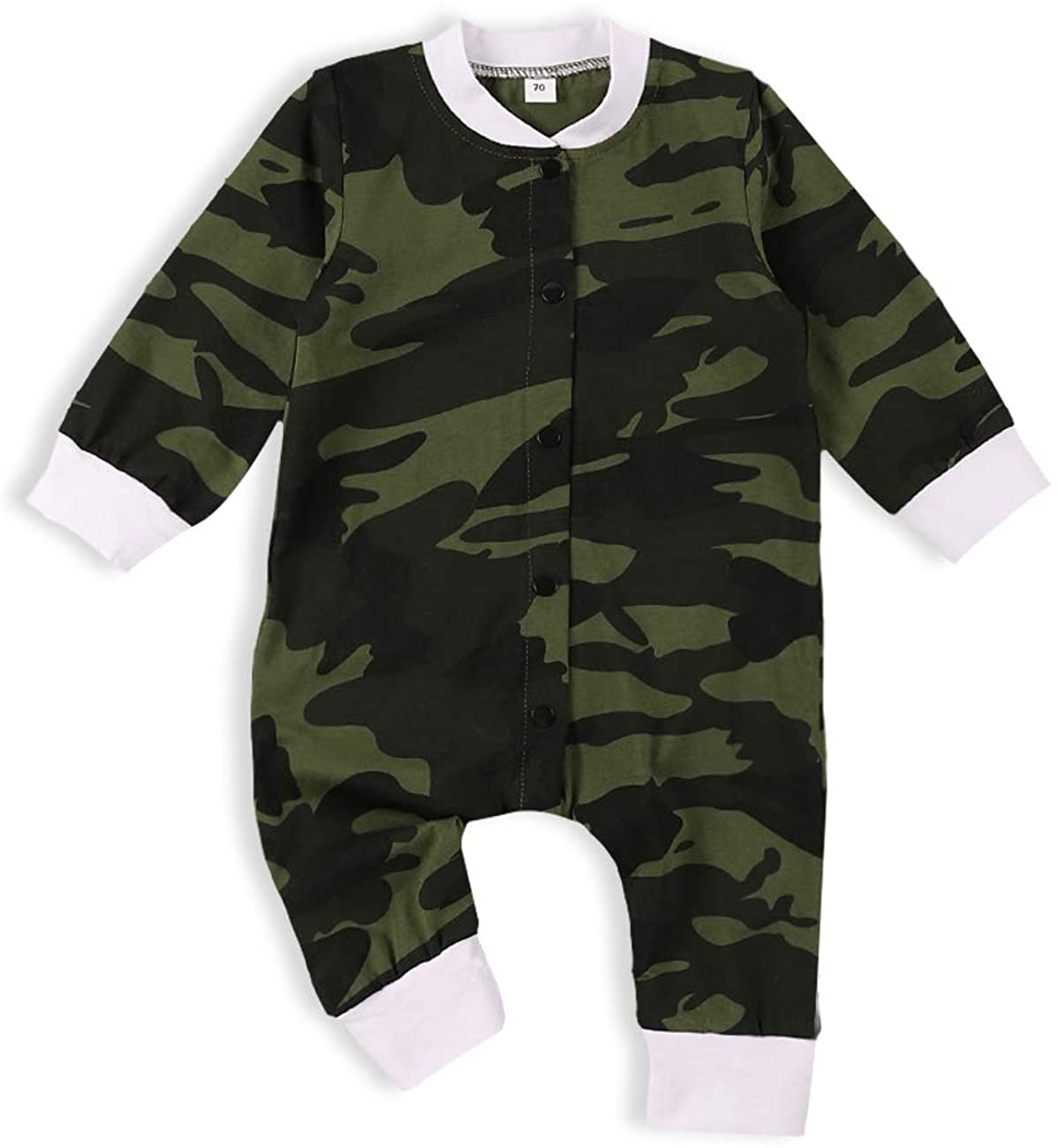 itkidboy Baby Boy Clothes Mamas Boy Camouflage Long Sleeve Sweatshirt Tops Pants Outfit Set