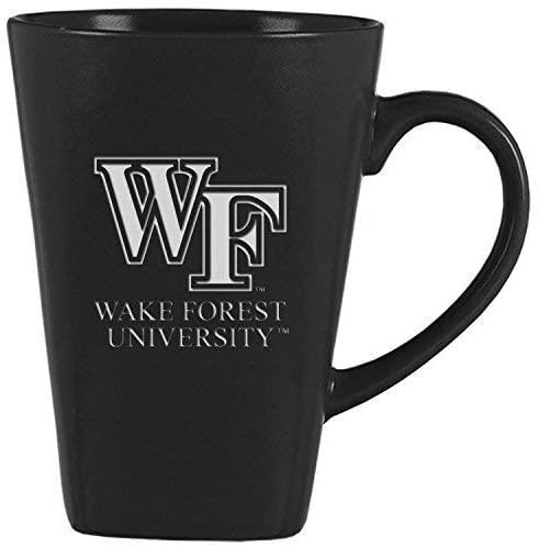 LXG, Inc. Wake Forest University -14 oz. Ceramic Coffee Mug-Black