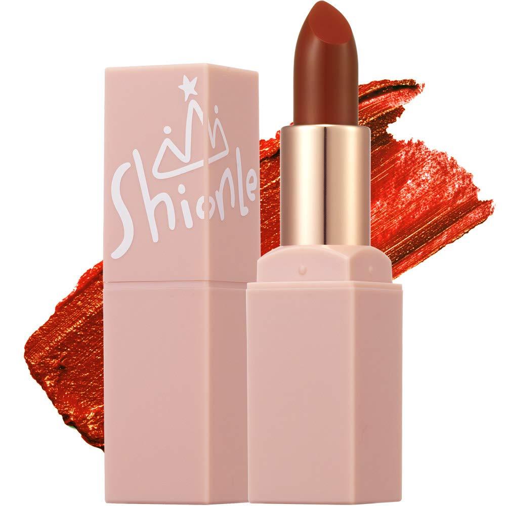 SHIONLE - Semi Matte Air Lipstick: Creamy semi matte lipstick | Long Lasting | Great Coverage | Creamy Texture | 3.3g