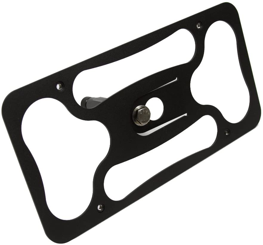 CravenSpeed Platypus License Plate Mount for Mini Cooper (R56) | 2011-2013 | No Drilling | Installs in Seconds | Made of Stainless Steel & Aluminum | Made in USA
