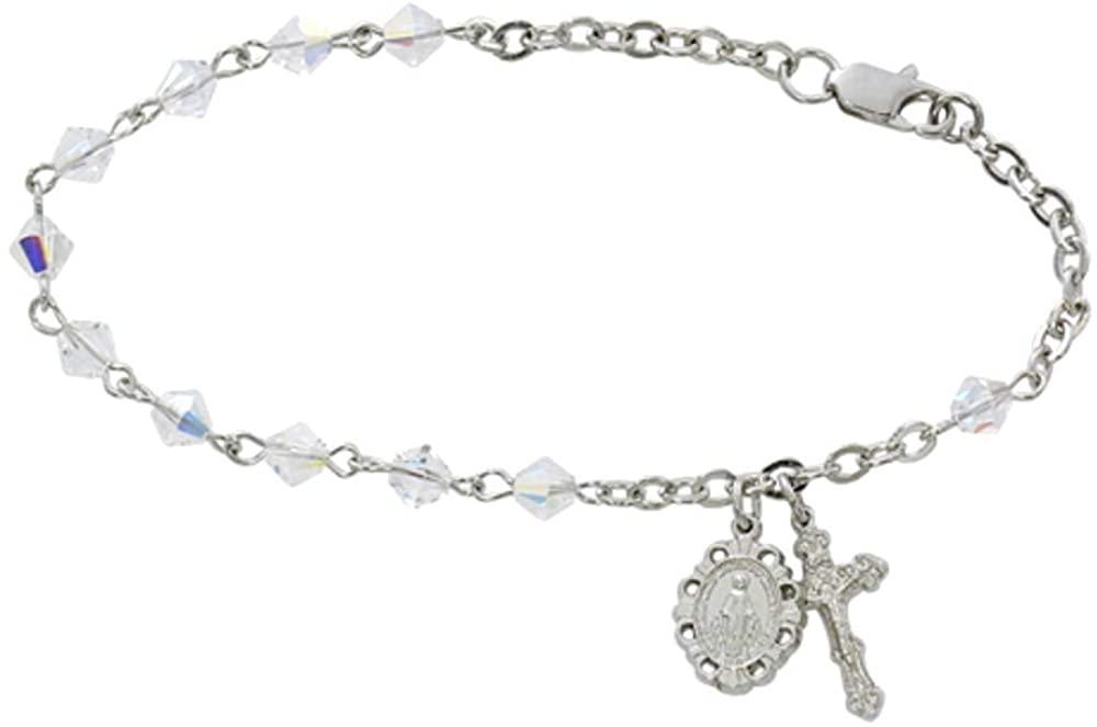 Bonyak Jewelry 7.5in Swarovski Crystal Bracelet Boxed
