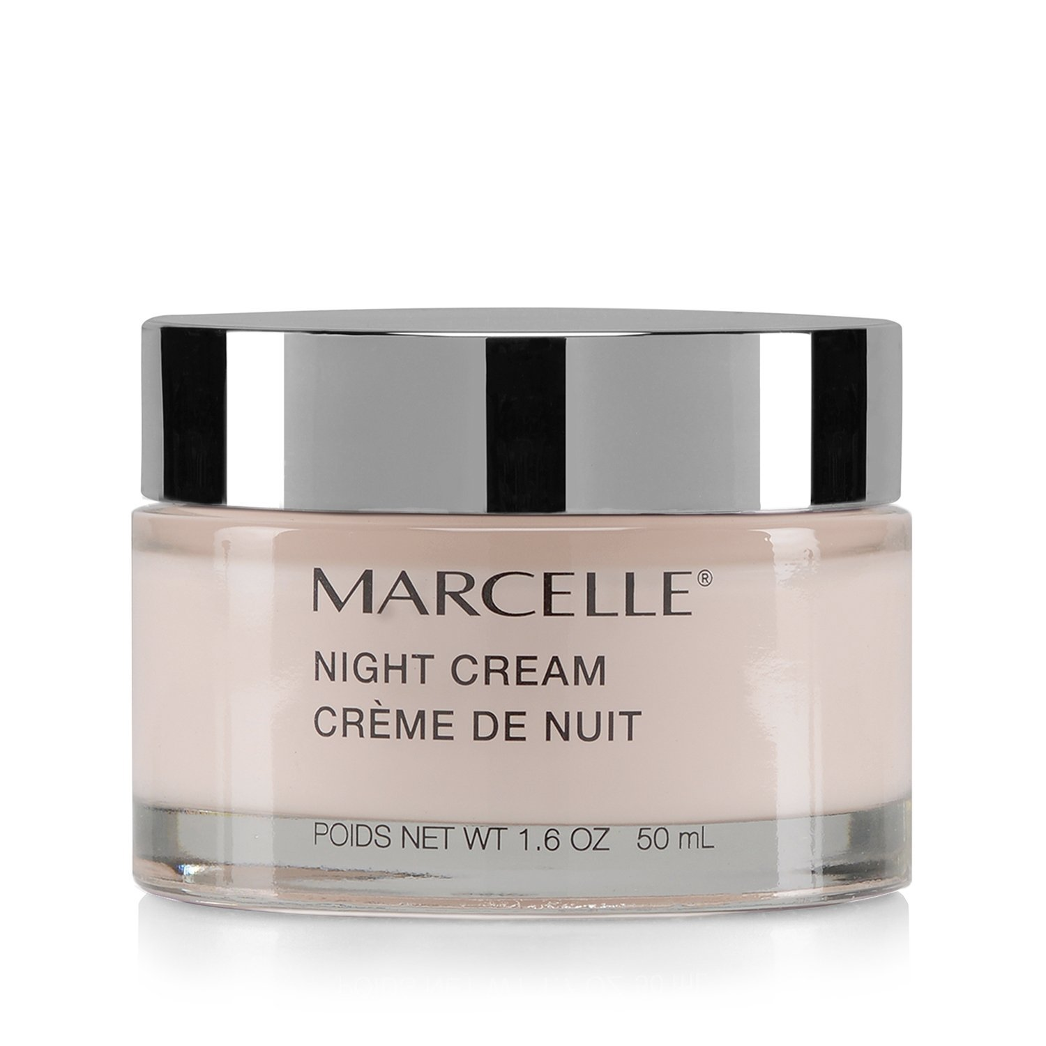 Marcelle Night Cream, Hypoallergenic and Fragrance-Free, 1.7 fl oz