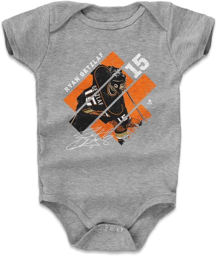 500 LEVEL Ryan Getzlaf Anaheim Hockey Baby Clothes & Onesie (3-24 Months) - Ryan Getzlaf Stripes