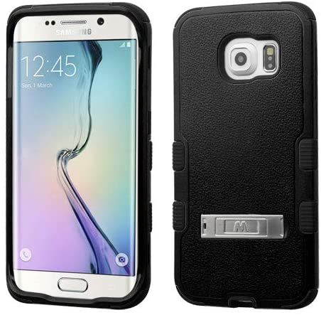 Wydan Case for Samsung Galaxy S6 Edge - TUFF Hybrid Hard Shockproof Case Kickstand Protective Heavy Duty Impact Skin Cover