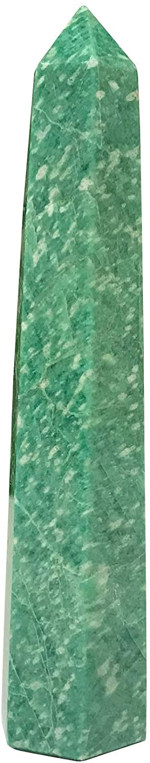 Gem Avenue 4 Inch Self Standing DHgateite Obelisk Tower Point
