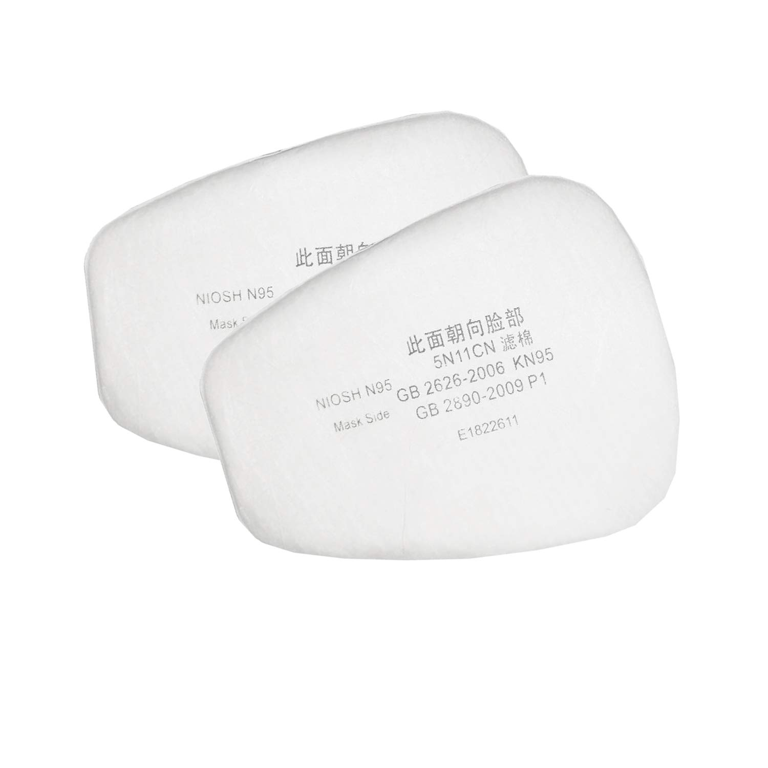 10 PCS Anti-Static Non-Oily Filter Particulate 5N11 5p71 Compatible with 5p71p95 Particulate Filter 501 Filter Retainer