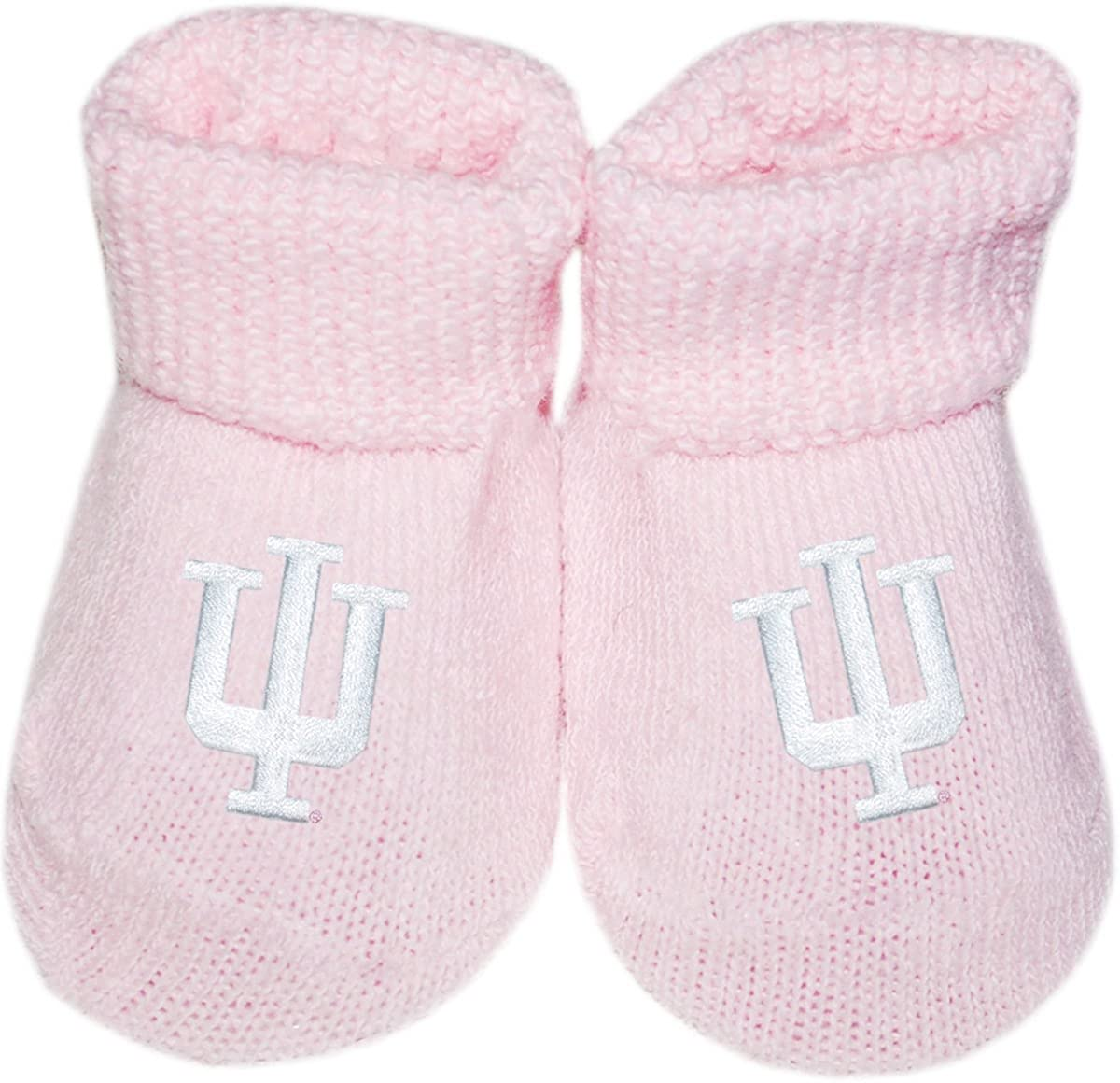 Indiana University Hoosier Newborn Baby Bootie Sock